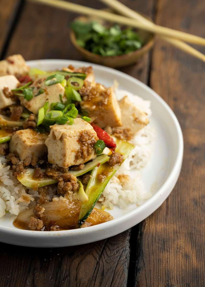 D4V: Vegetarian Spicy Mabo Tofu