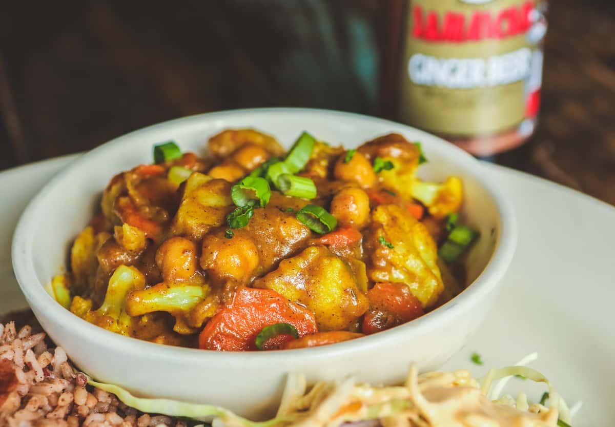 Curry Channa & Potato