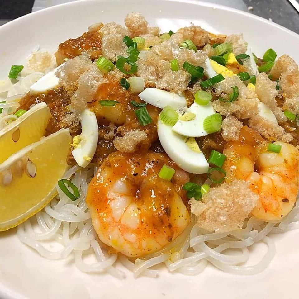 Pancit Palabok (Shrimp)