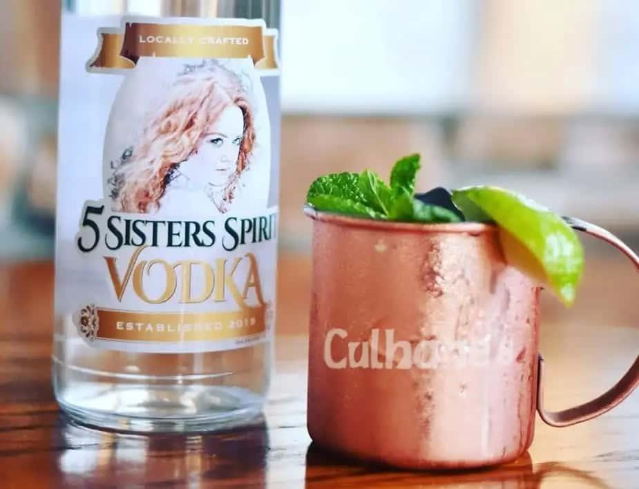 Culhane's 5 Sisters Spirit Vodka