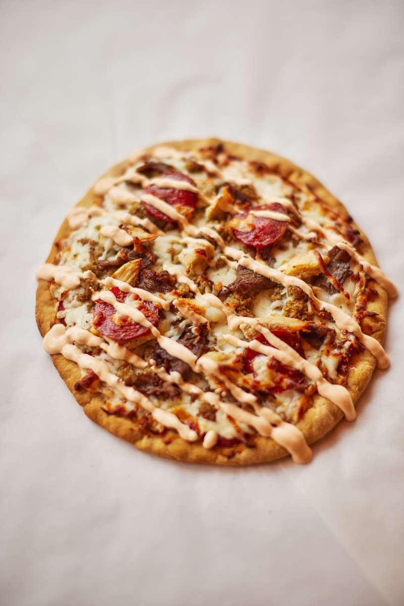 Meat Madness Pizza