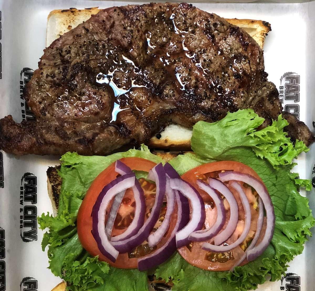 Rib Eye Sandwich (Thursday)