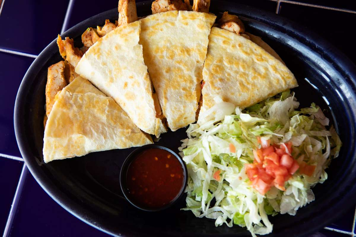 Grilled Quesadilla With Choice of Fajita Meat