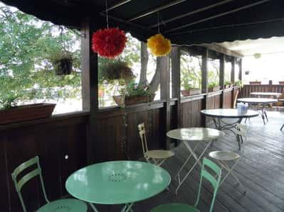 patio at 75th