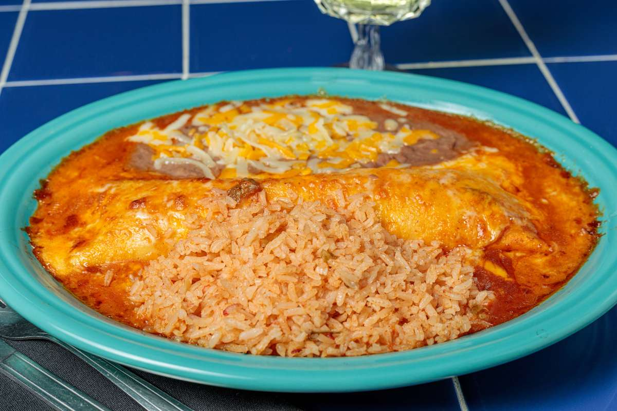 #7. One Enchilada Plate