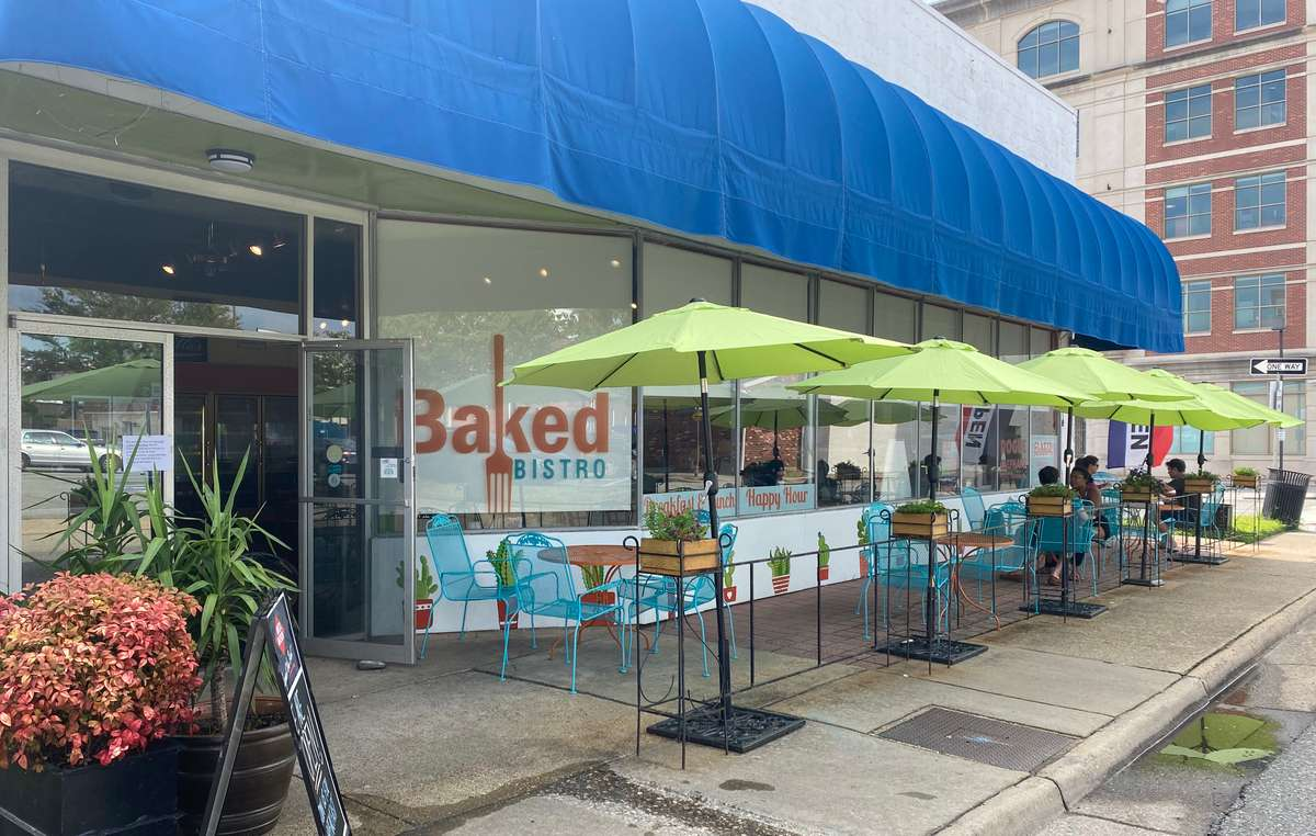 Front of BAKED BISTRO