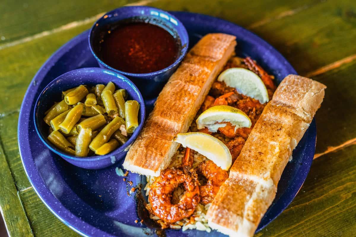 Cajun Style Fish and Shrimp