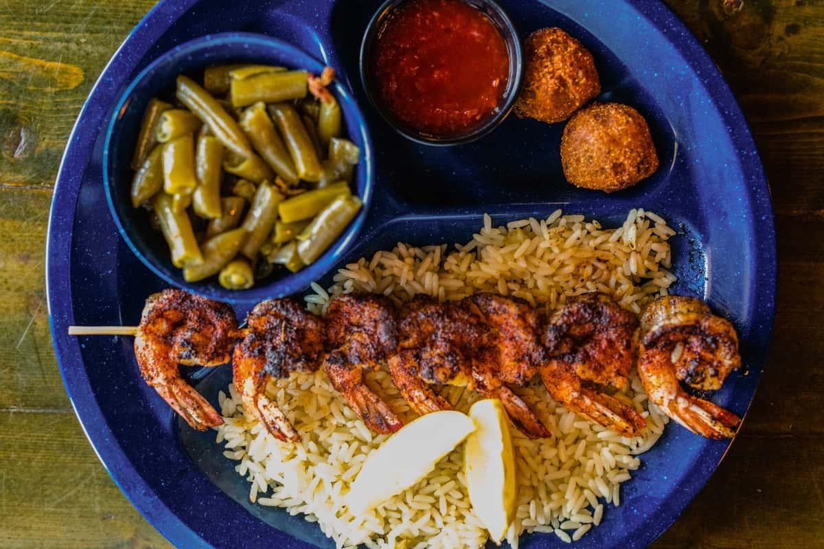 New Orleans Style Cajun Shrimp