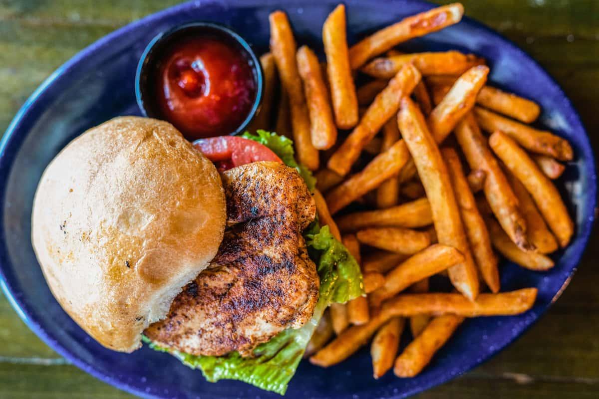 grilled chicken sandwich