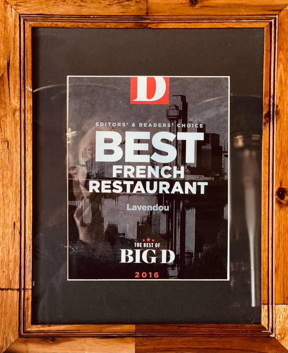 Best French Restaurant of Big D