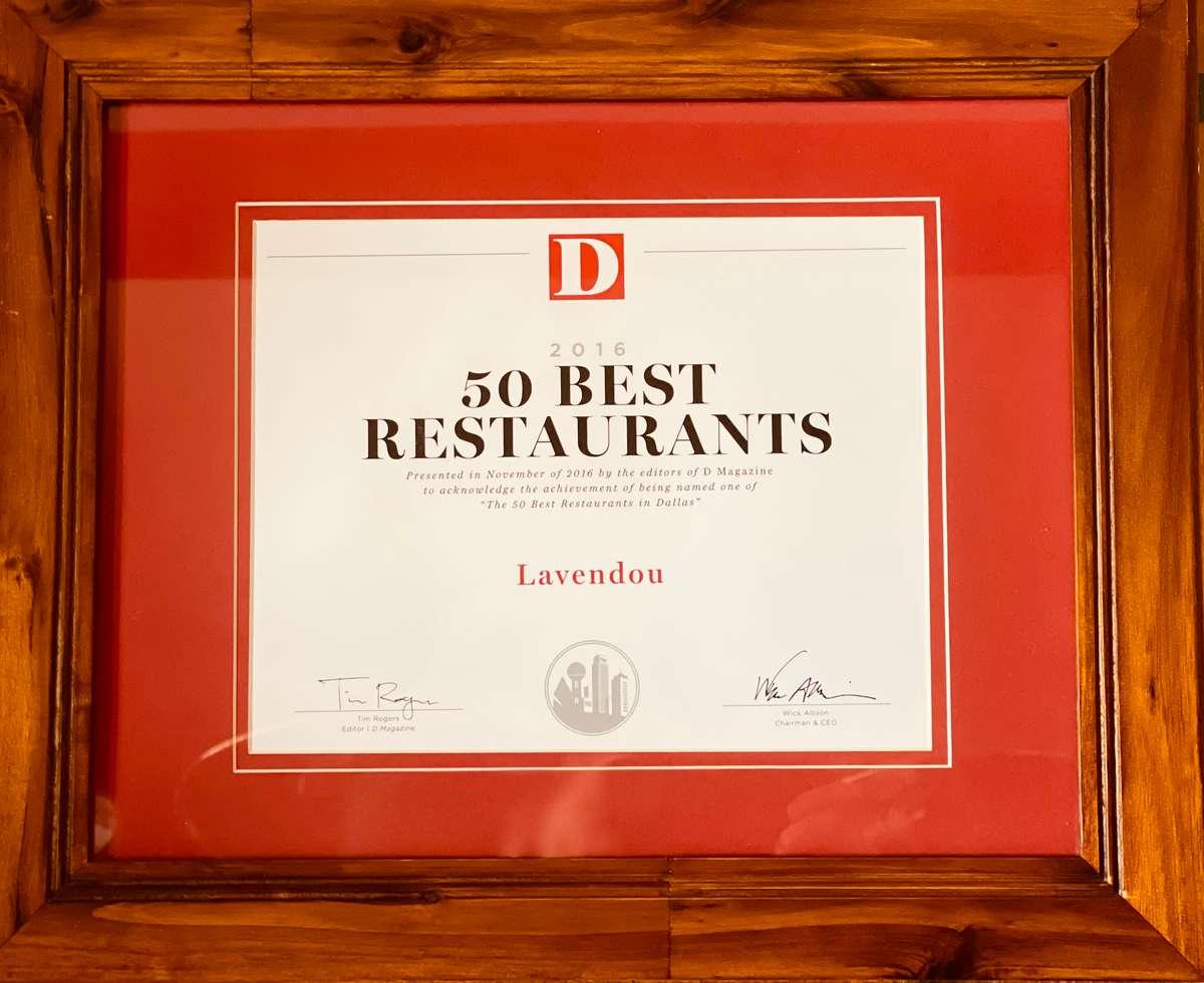 50 Best Restaurants in Dallas