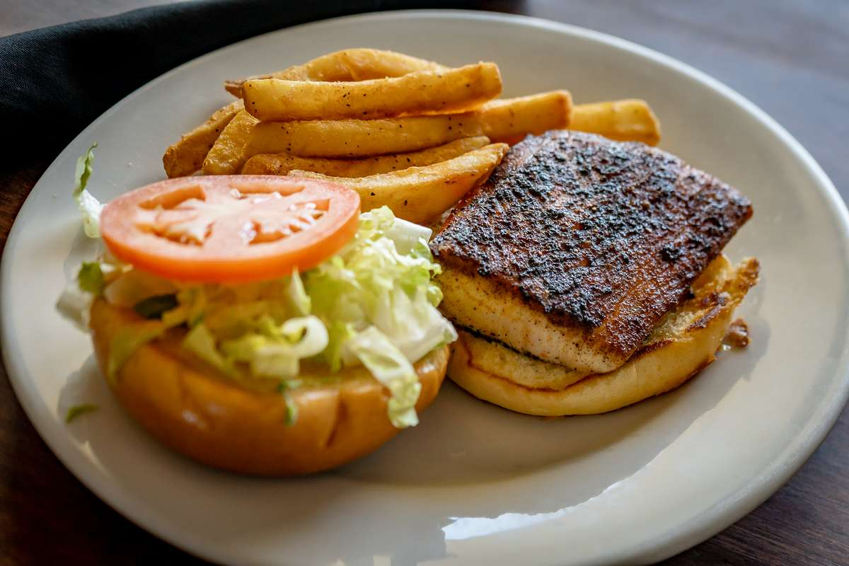 The Dock Fish Sandwich