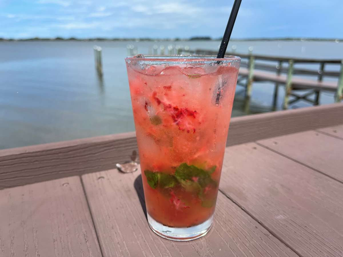 Berry Ginger Mule