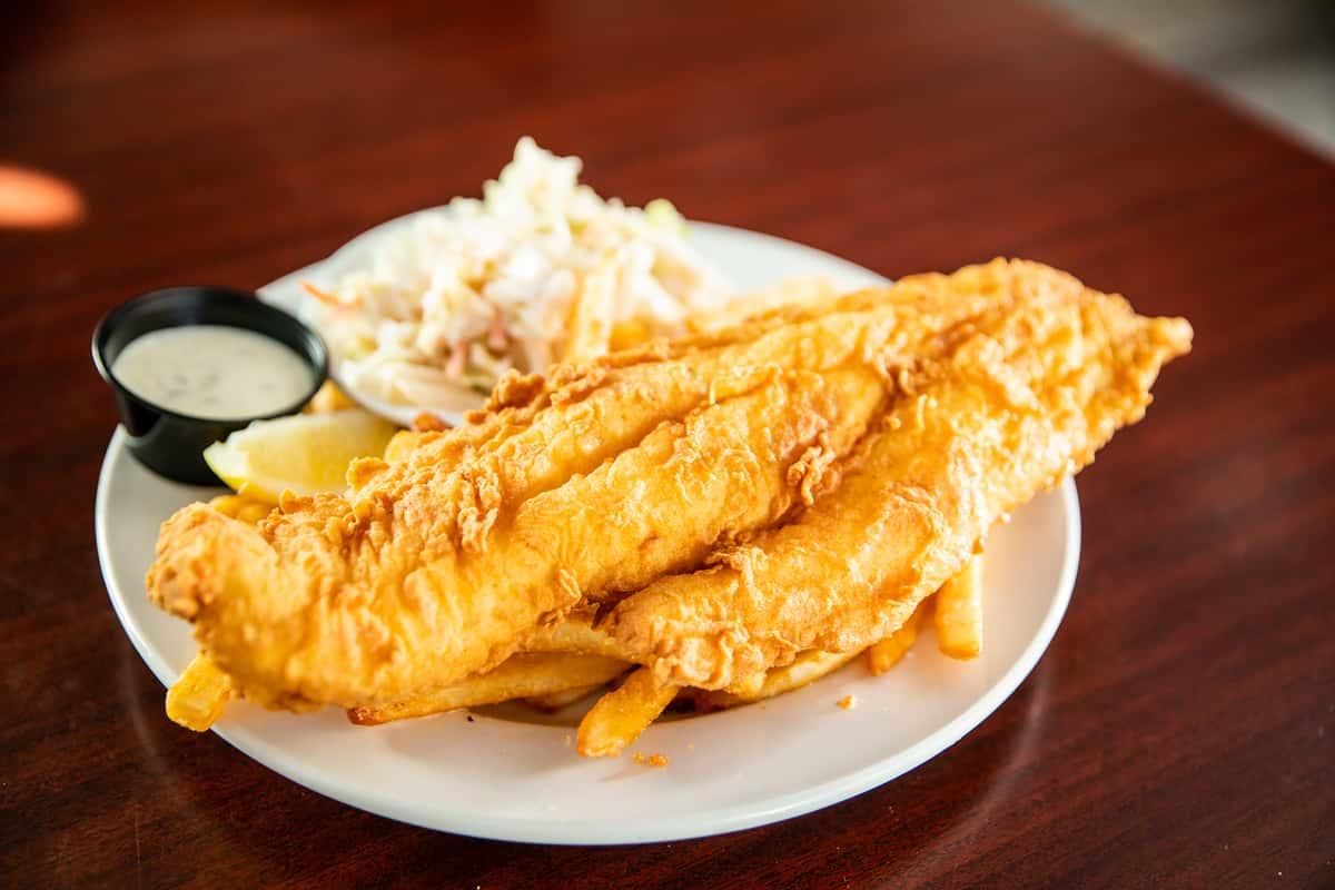 Fried Haddock & Chips