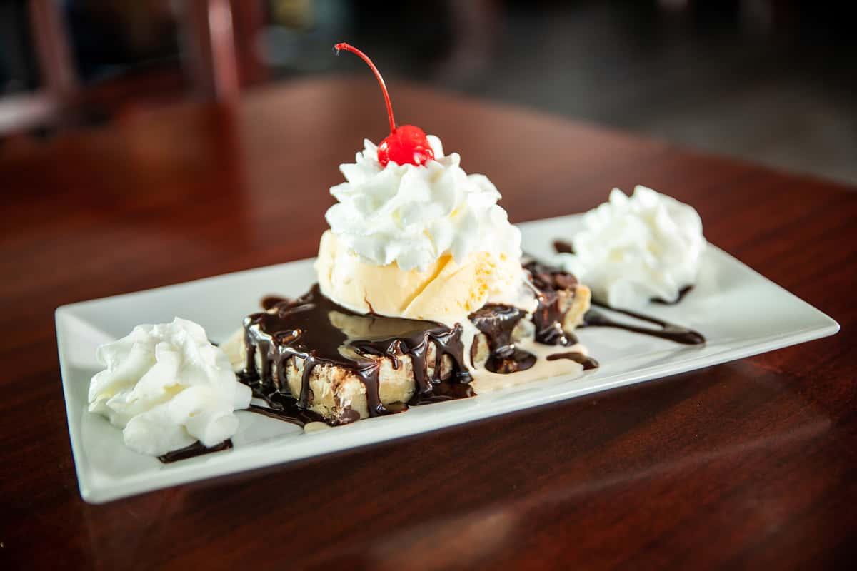 Chocolate Toffee Bar Sundae