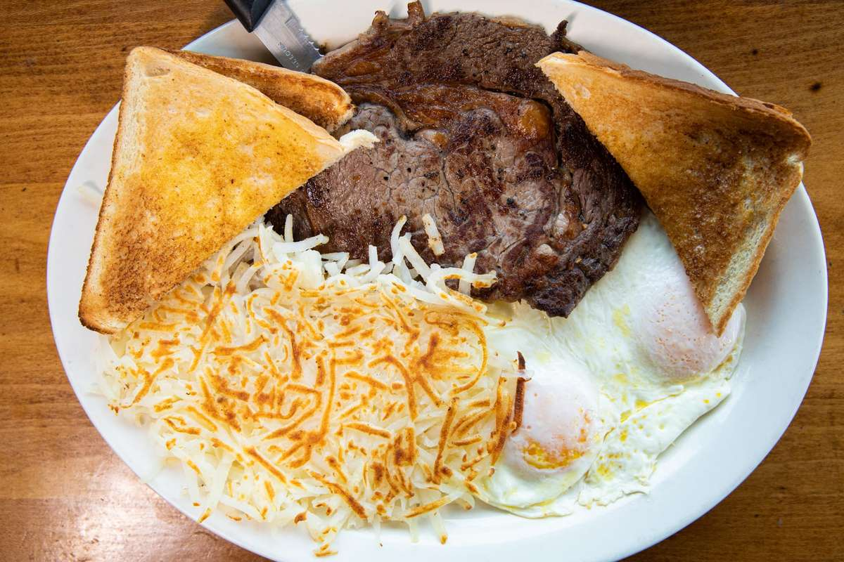 Specialty Steak and Eggs