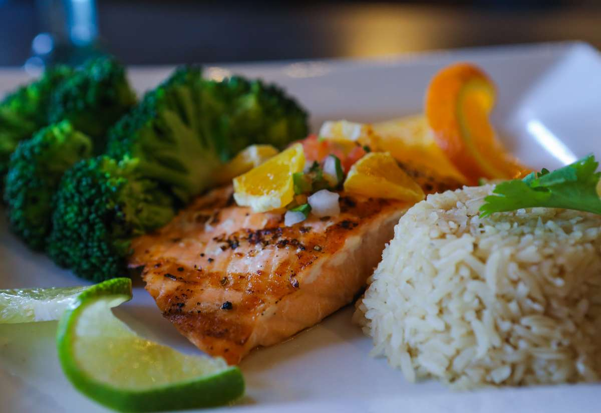 Flame Broiled Salmon Filet