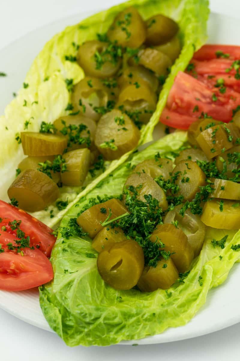 Khiar Shoor (Persian pickles)