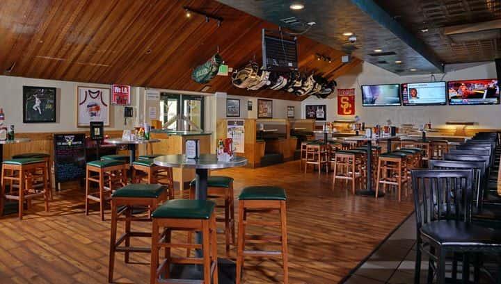 view of interior of restaurant