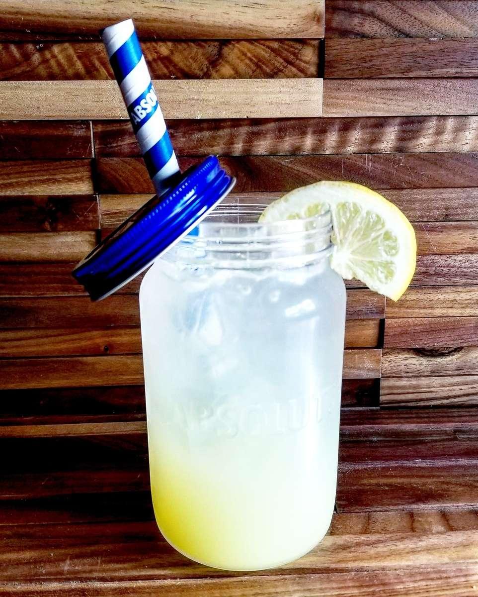 Citron Lemonade Mason Jar