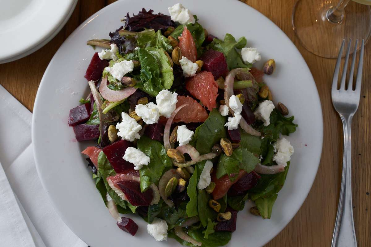 Fresh Beets Salad