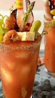 Mango Habanero Bloody Mary