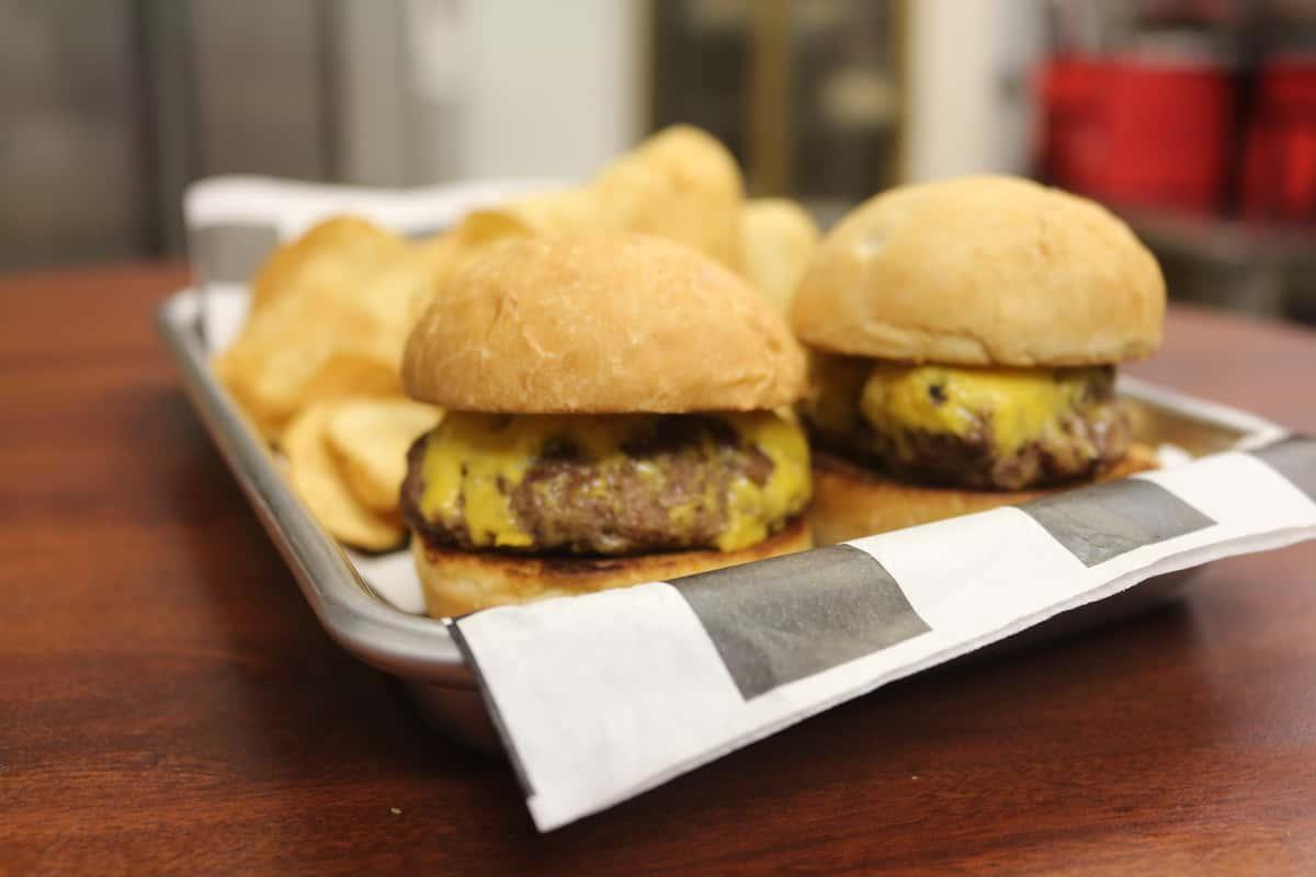 Mini Cheeseburgers with Side