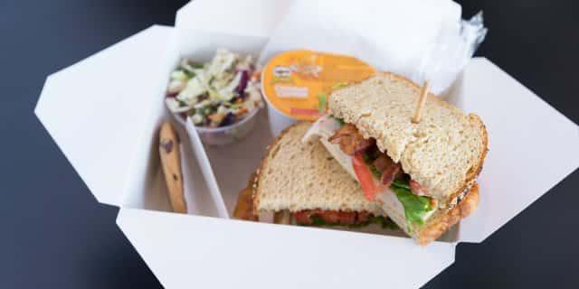 Turkey, Bacon & Swiss Sandwich Boxed Lunch