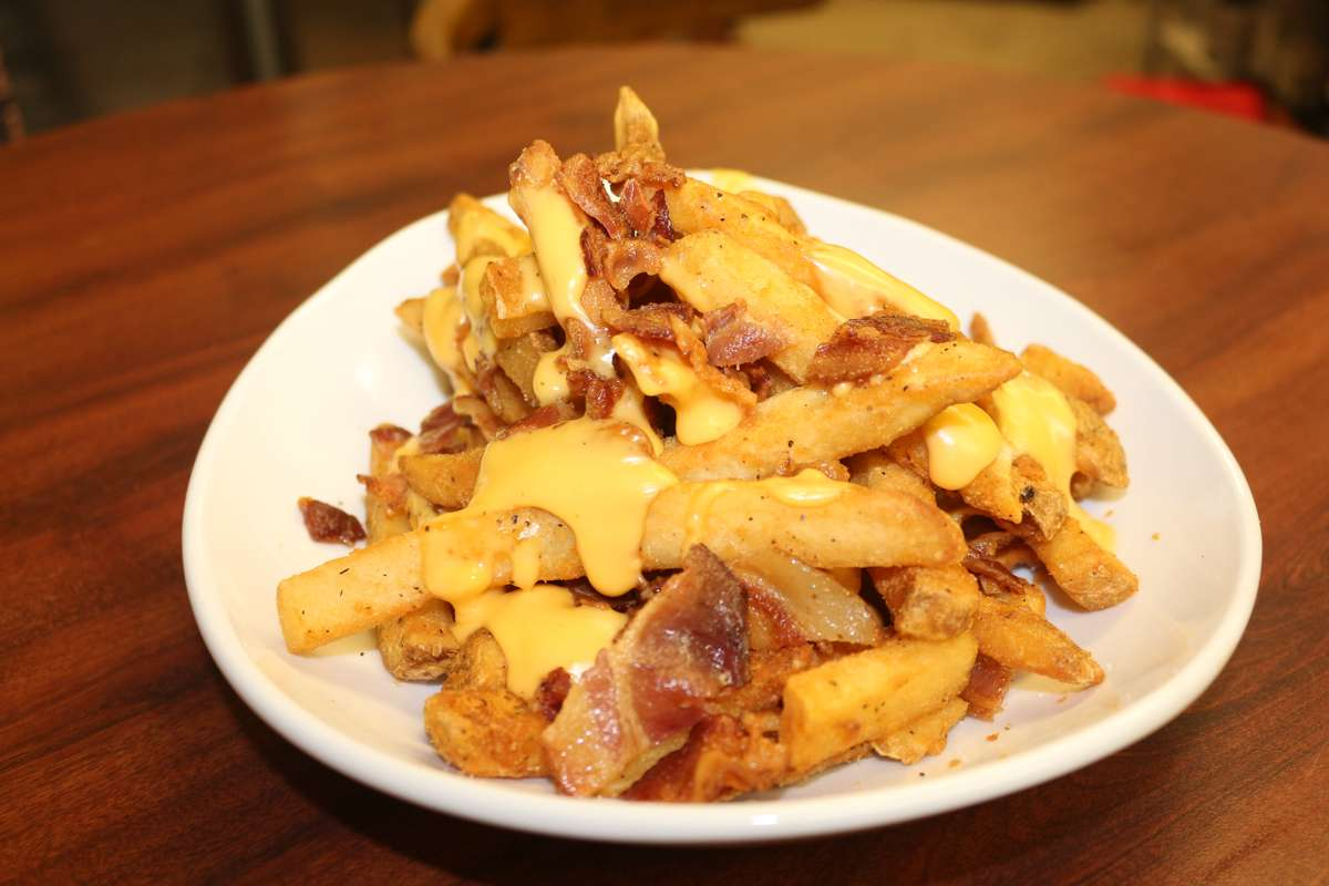 Bacon Beer Cheese Fries