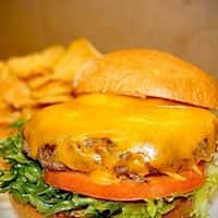 Public House Cheese Burger