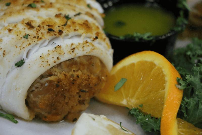 Stuffed Filet of Sole