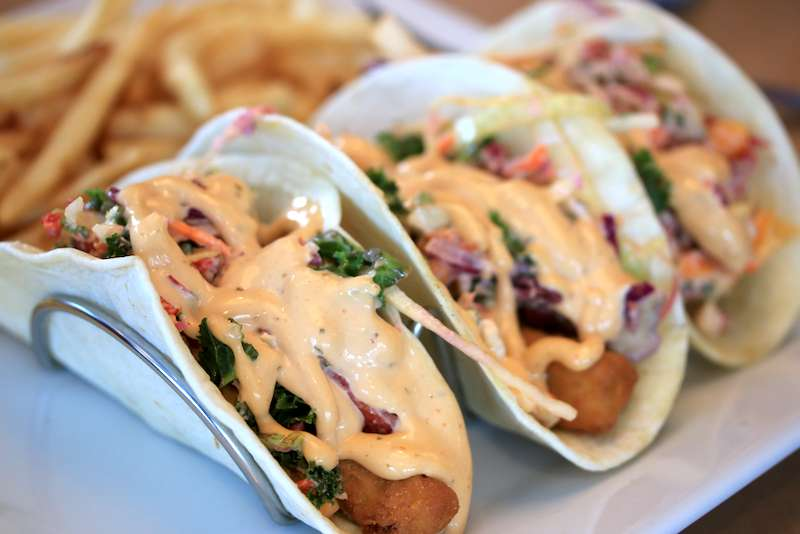 Island Fish Taco