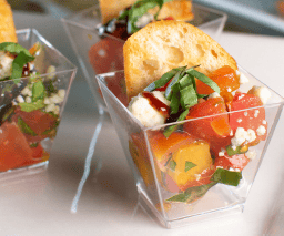 bruschetta cups
