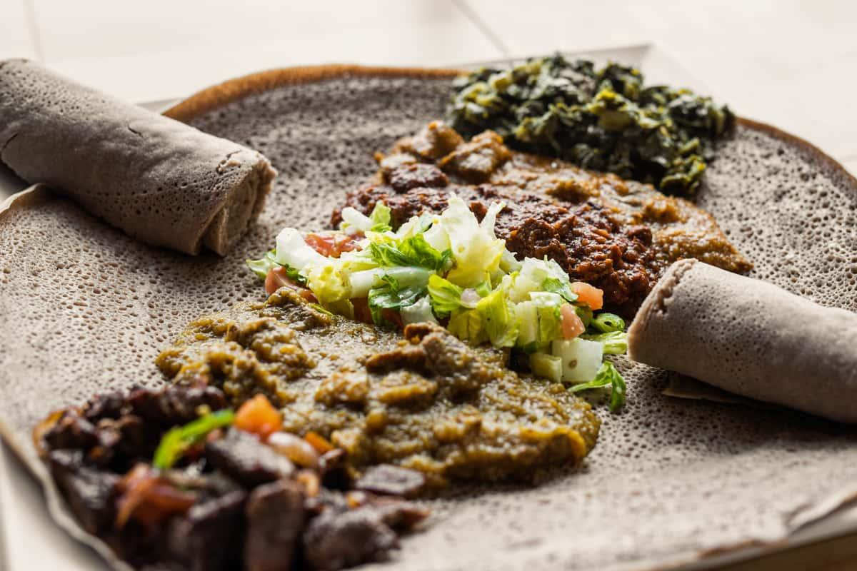 Habesha Beef Combo
