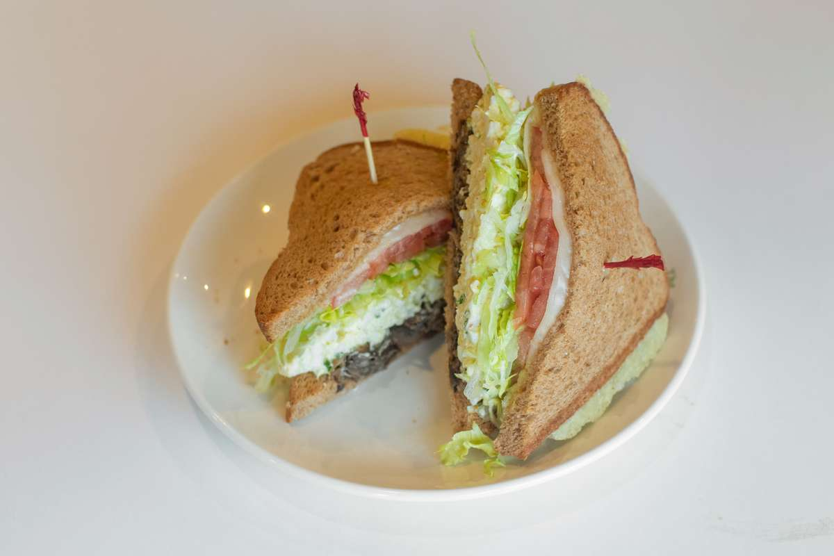 Egg Salad Supreme Sandwich
