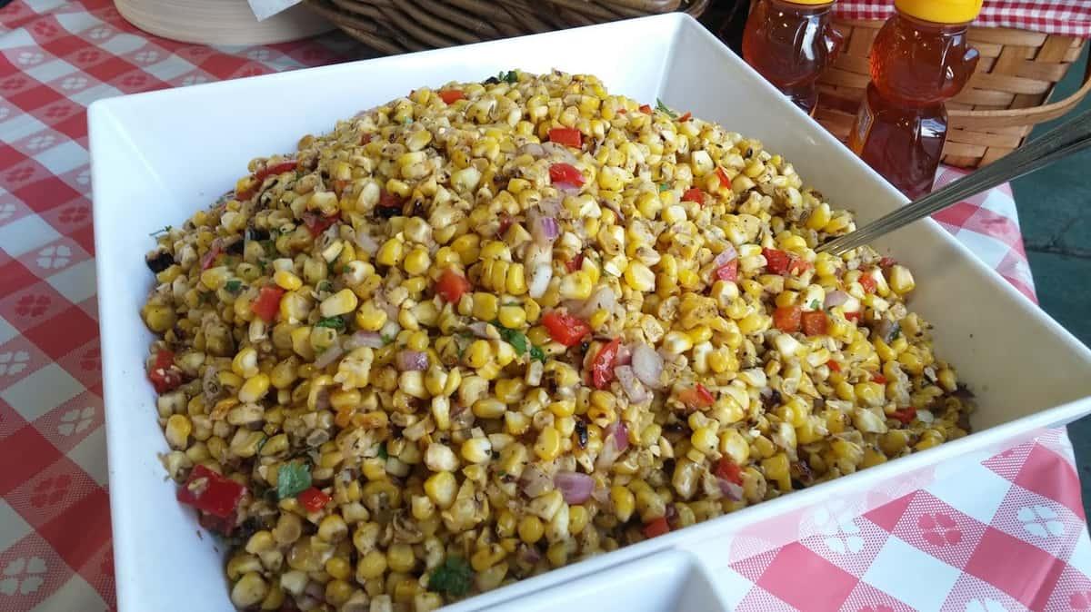 Fire Roasted Corn Salad (Seasonal