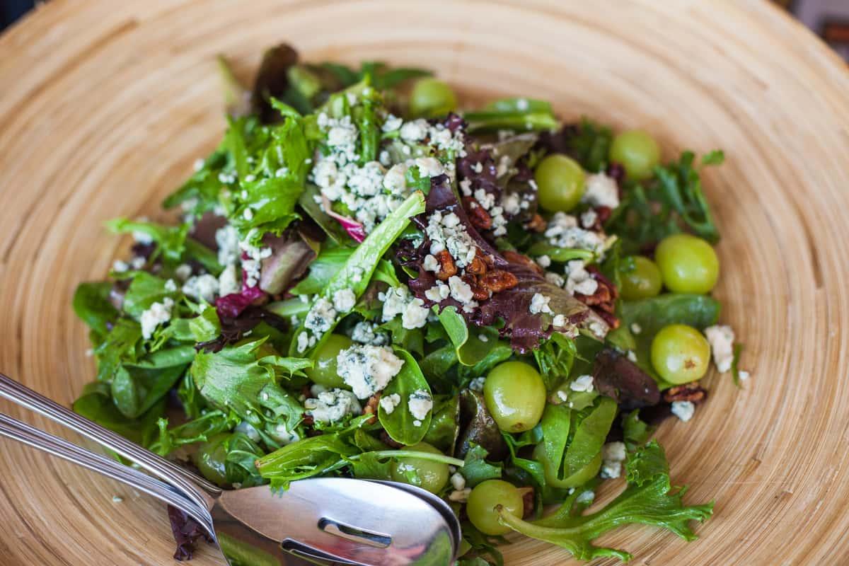 Wild Greens Salad