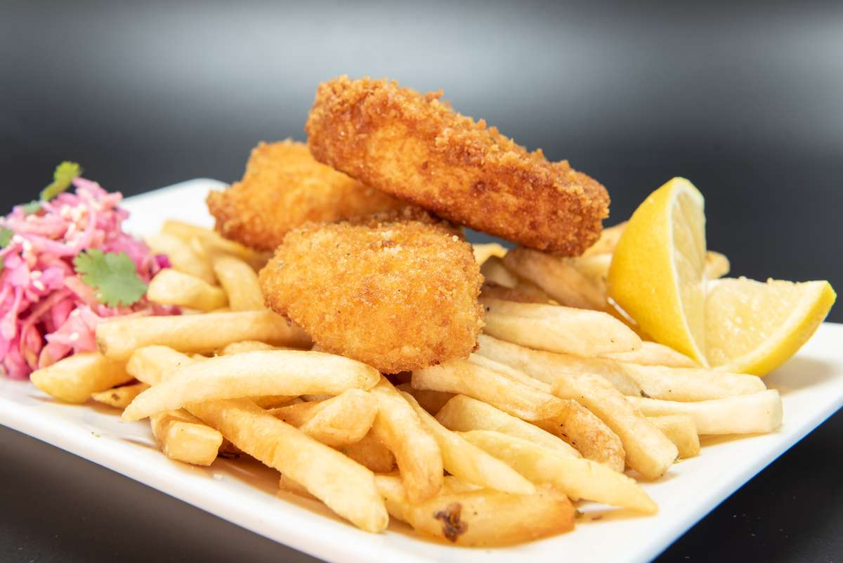 Wild Alaskan Halibut Fish 'n' Chips