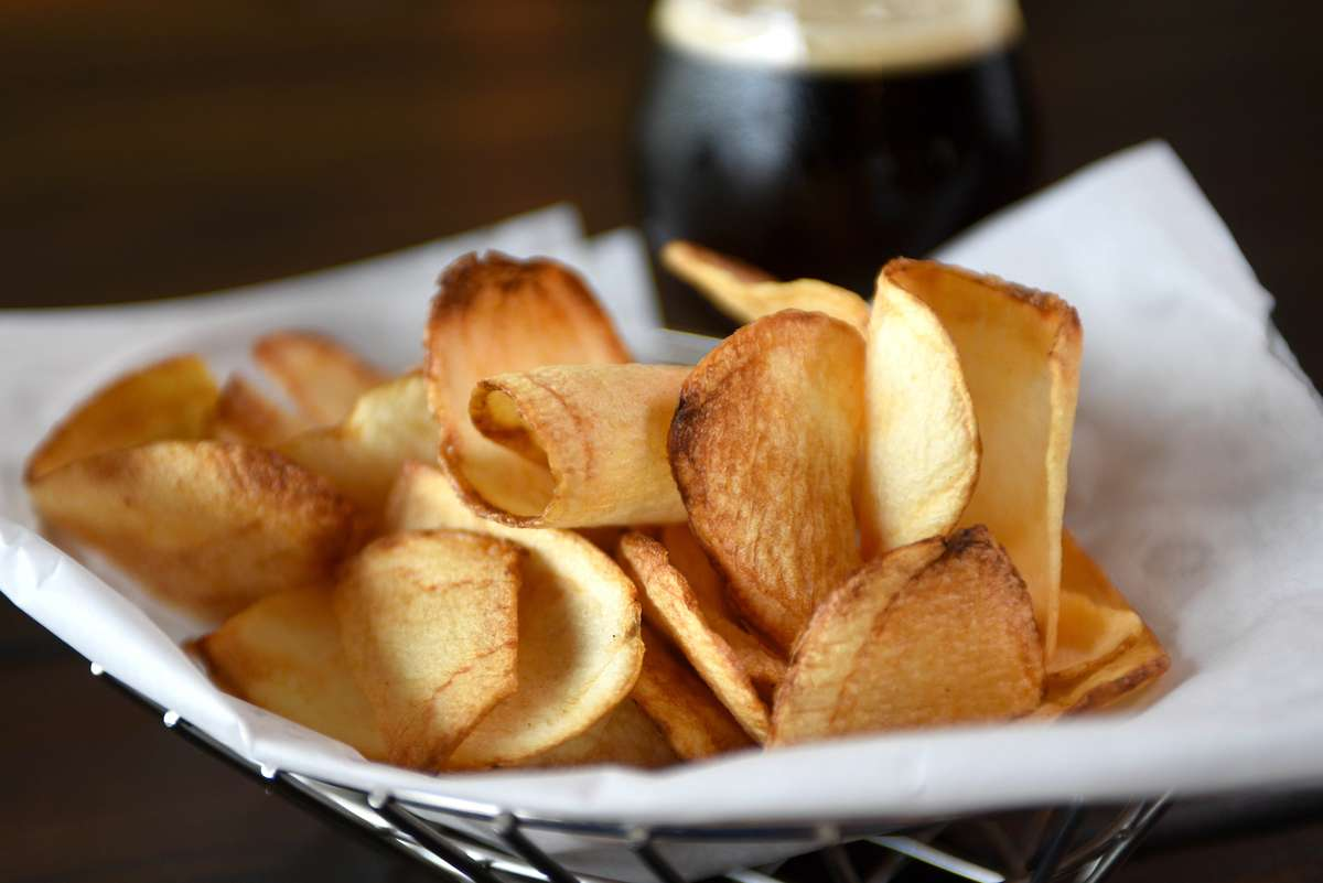 house made chips