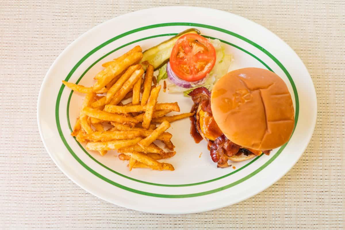 BBQ Bacon Cheeseburger*