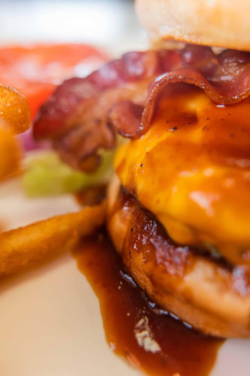 Bacon Cheese Burger*