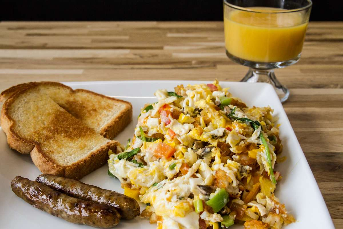 YOURWAY Breakfast Plate