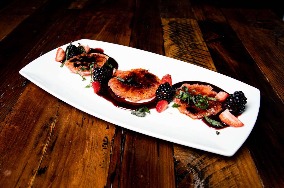 Caramelized Grapefruit and Berries