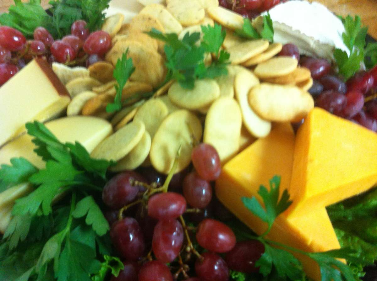Cheese & Grape Platter