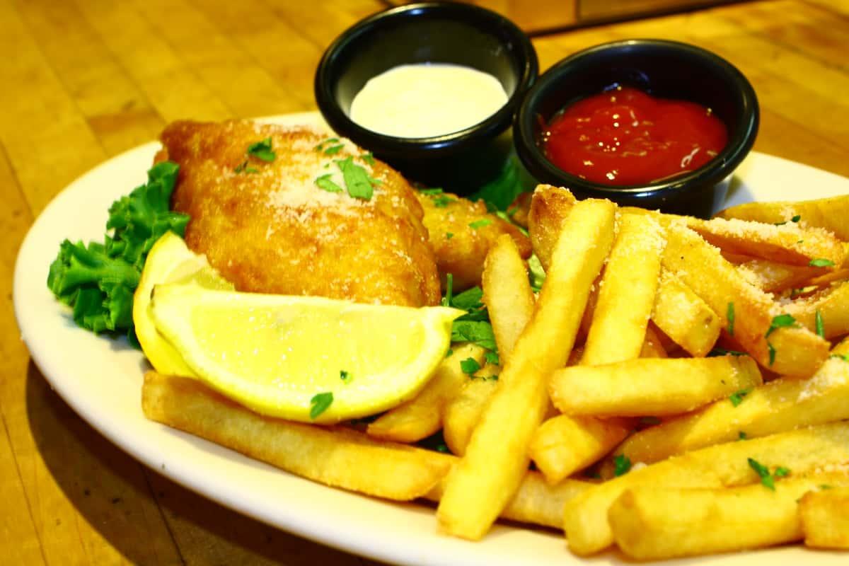 Pub Style Fish & Chips