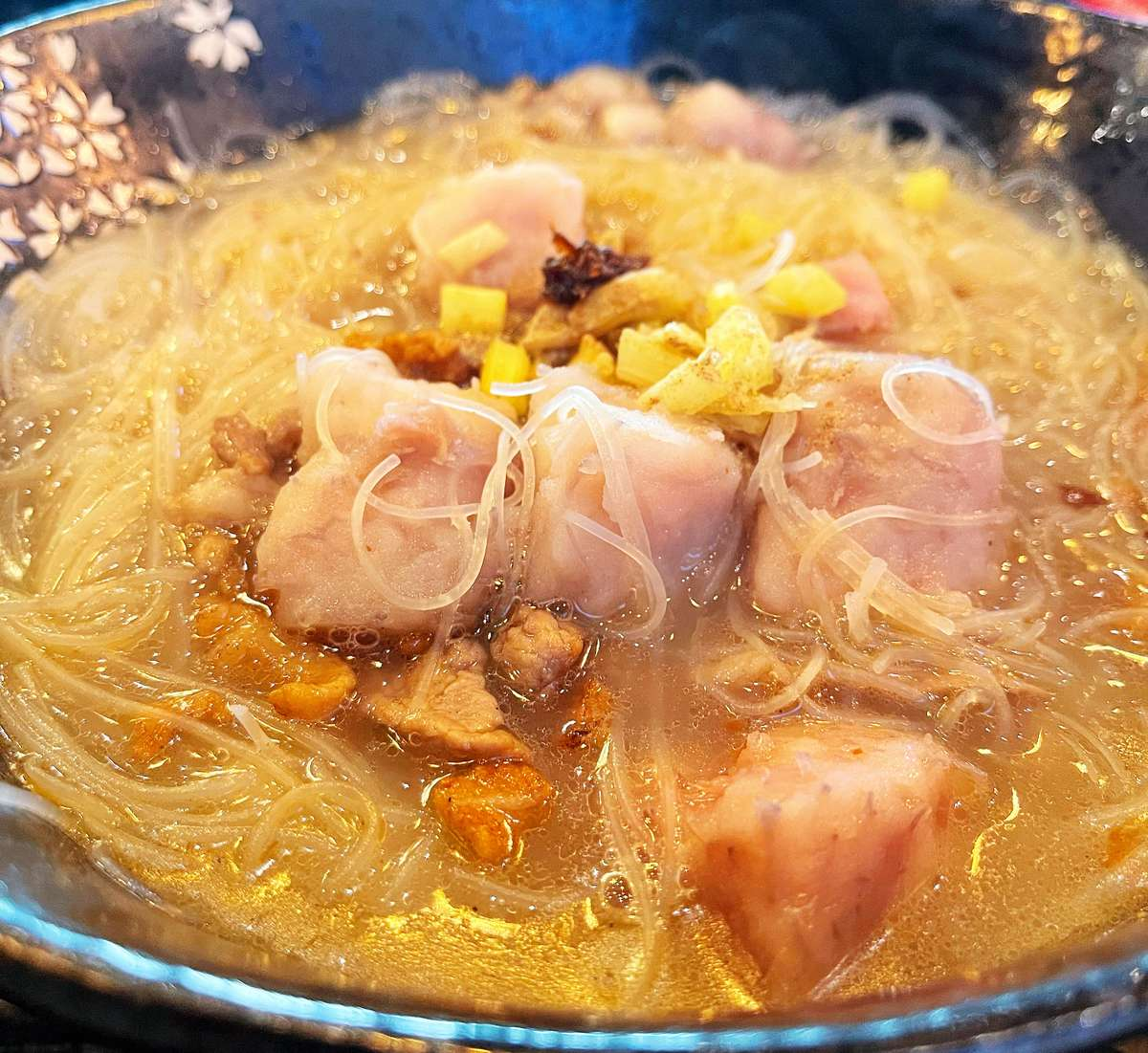 Taro Rice Noodle Soup (芋頭米粉湯) - Available only on Friday, Saturday and Sunday