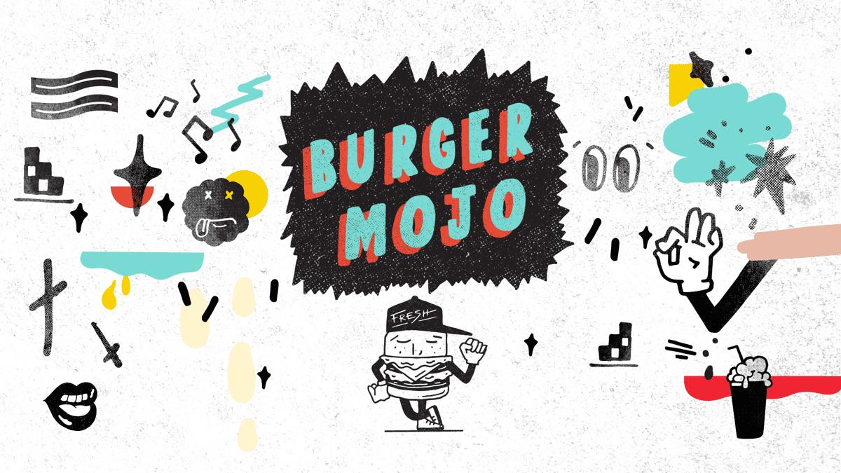Burger Mojo illustrations