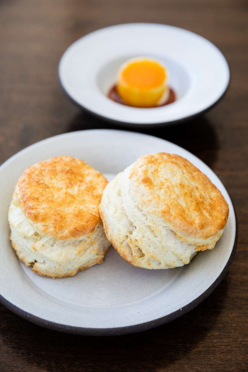 Biscuits and Sorghum Butter