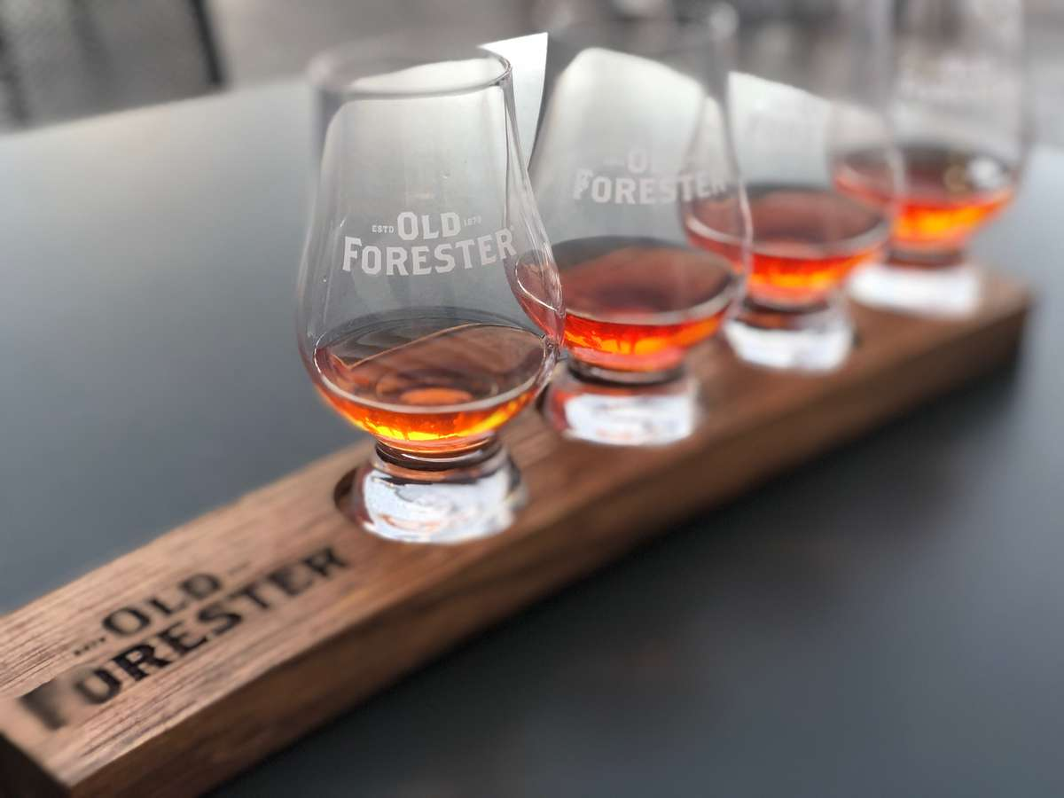 Old Forester Whiskey Flight