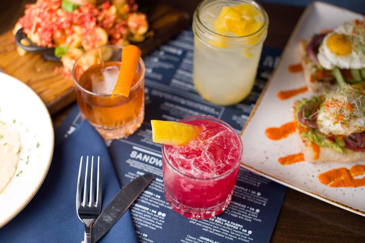 cocktail brunch